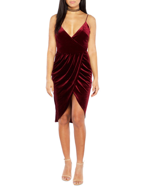 In Too Deep Velvet dress - PRADEGAL