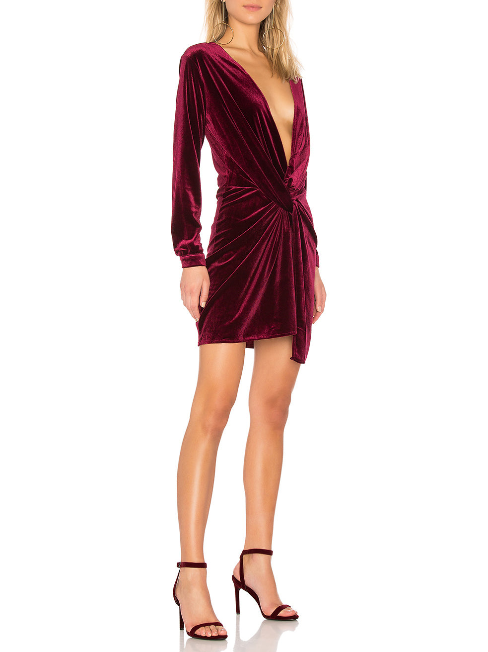 MIA Velvet Twist Dress (+Colors)