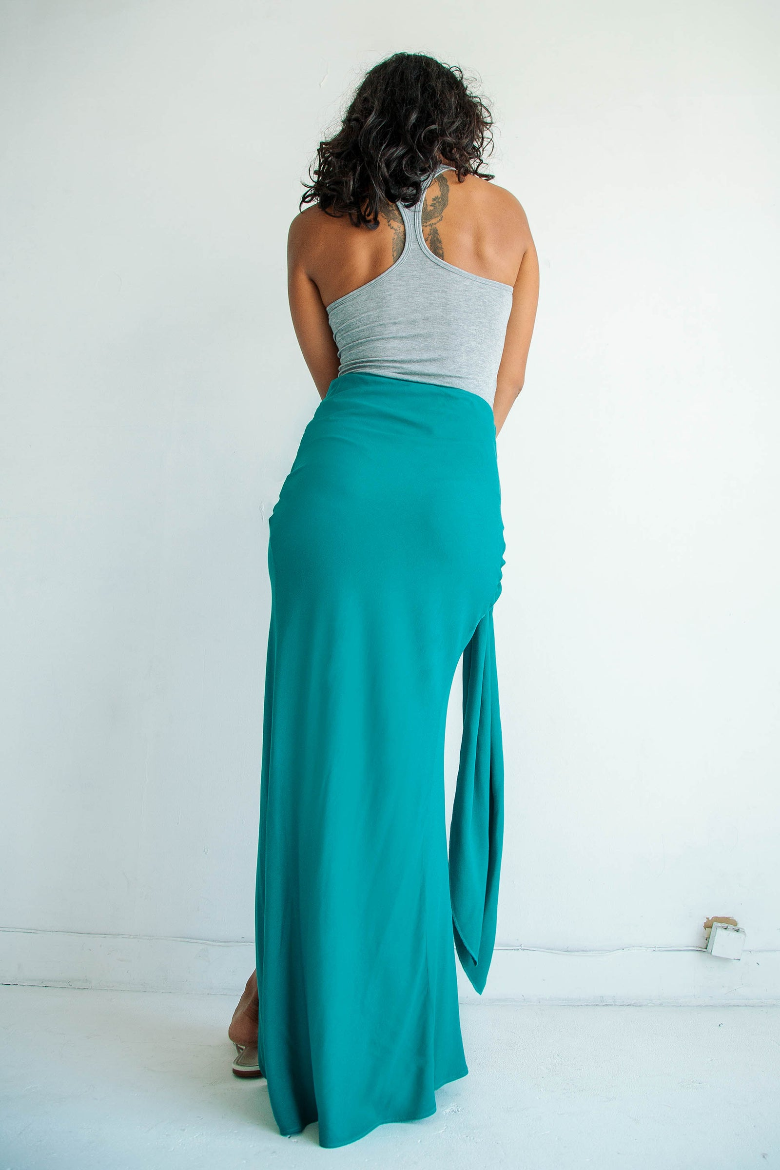 Celia Skirt Marine Green
