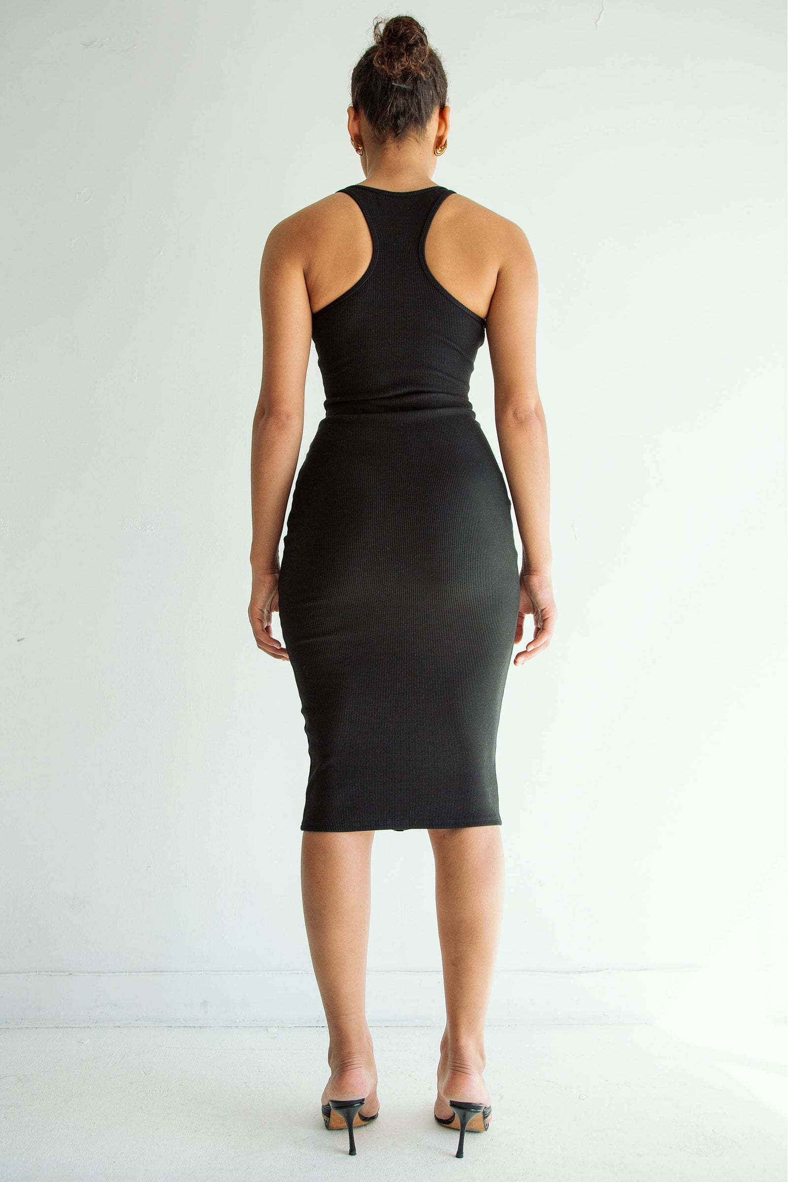 HARPER DRESS JET BLACK