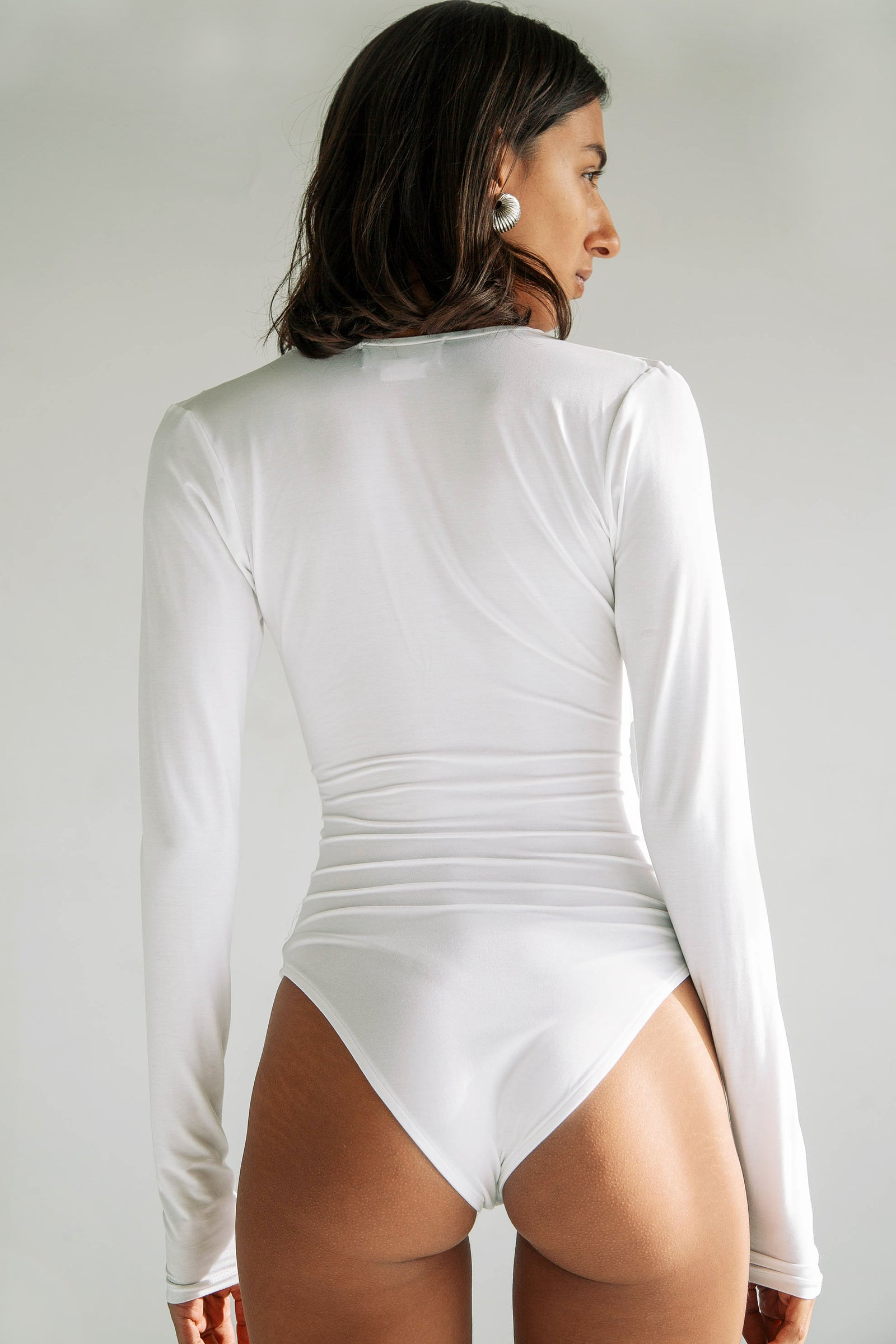 ISLA BODYSUIT WHITE