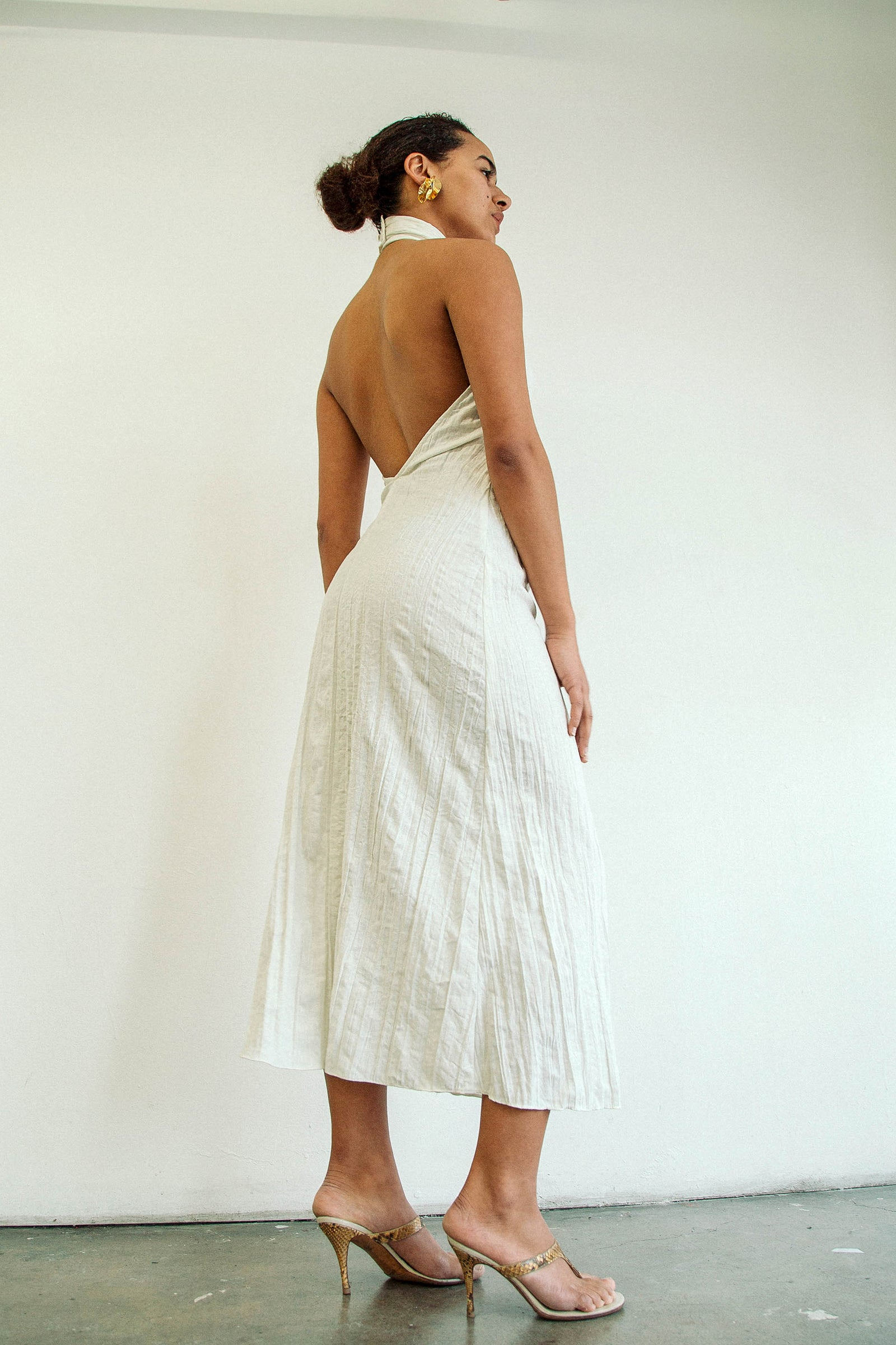 KAITO DRESS OFF-WHITE