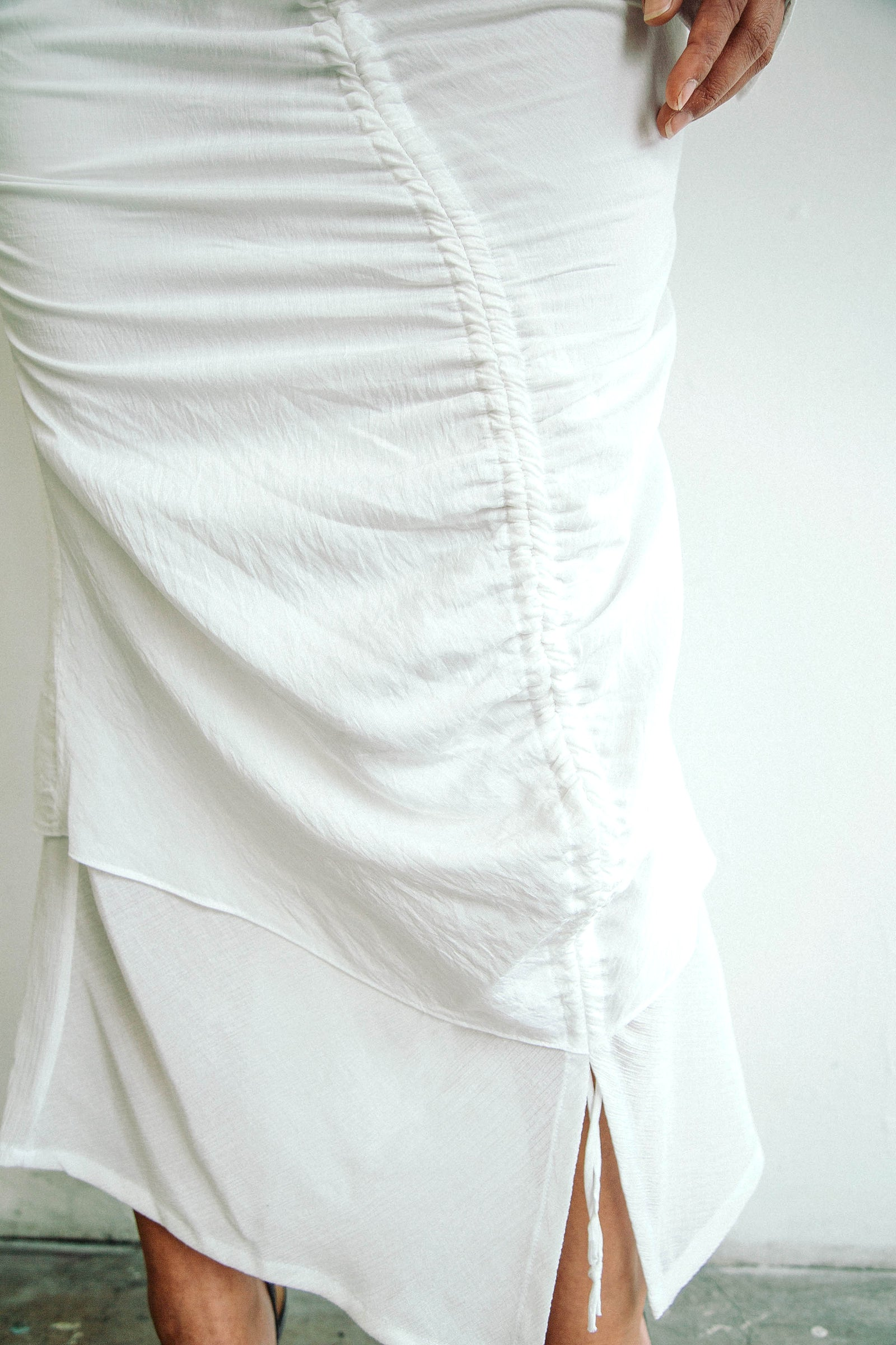 LEOMIE SKIRT WHITE
