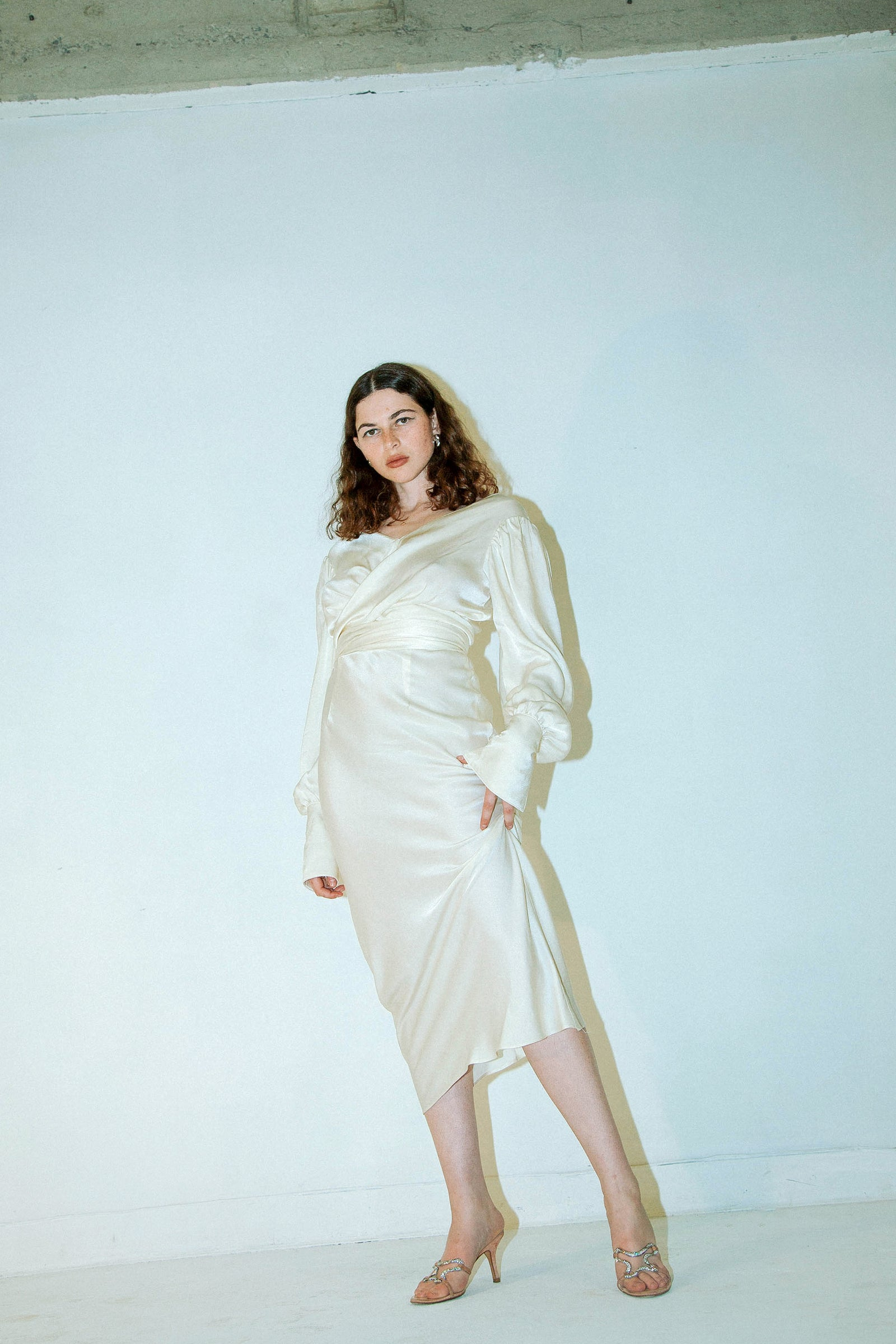 MARFA DRESS IVORY