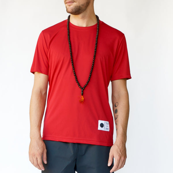 Moon & Son ATHLETICS EST. 2015 Performance T | Mars Red