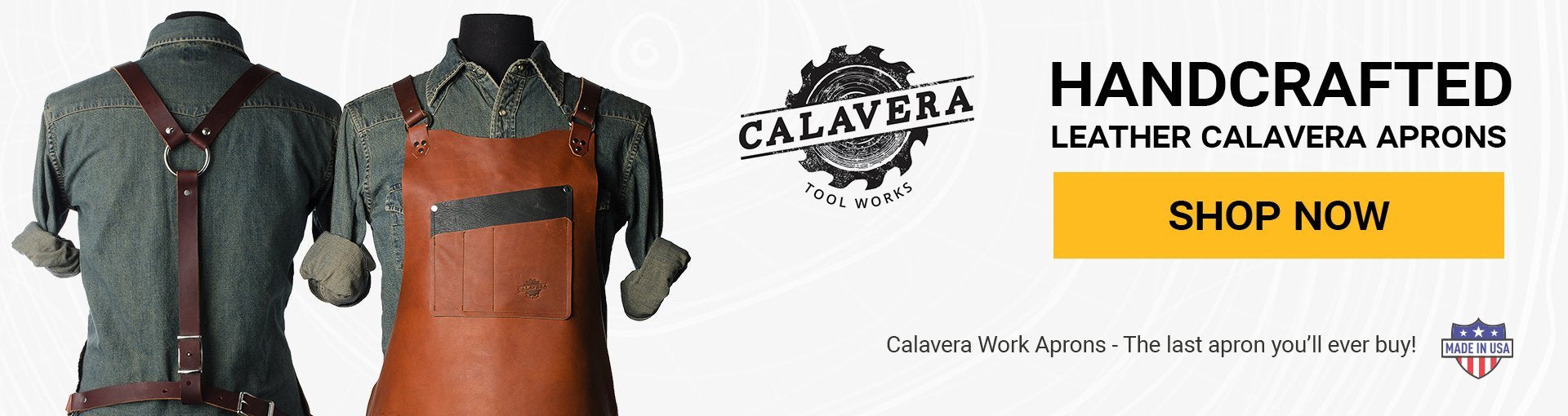 Calavera Aprons Available Now!