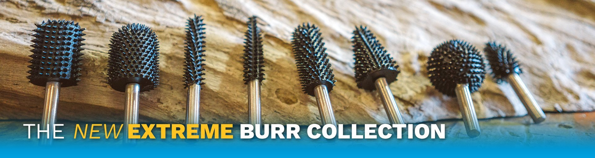 Shop the NEW Extreme Burr Collection Today!