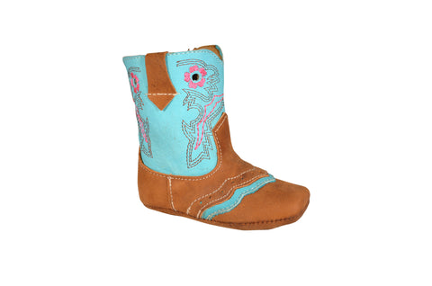 350 Turquoise- Lil' Cowpoke Boots