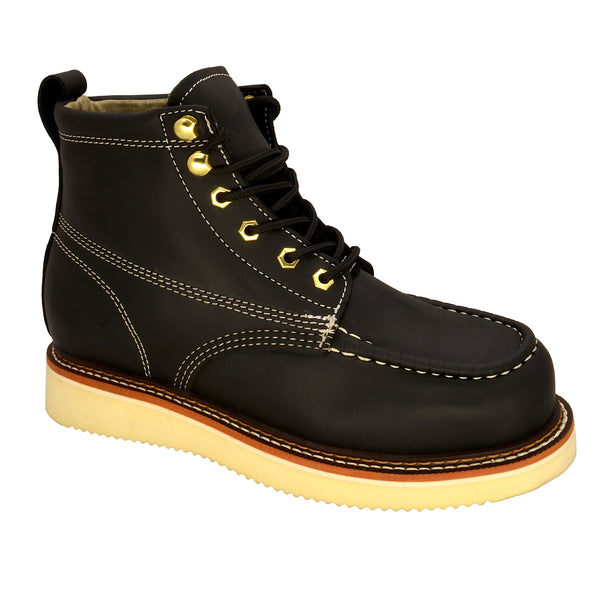 "6"" - 630 Mocc Toe Boot - Black"