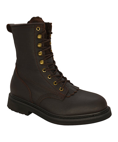 ST 817 Kiltie - STEEL TOE - Dark Brown