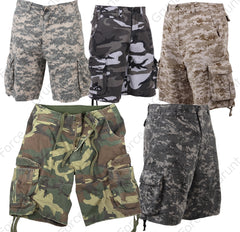563dc482be Rothco's Camo Infantry Utility Shorts are made from a rugged and  heavyweight washed cotton material that is built for everyday use.