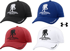 under armour american flag hat. originally, only black and white were available, but now grunt force has introduced the royal blue red to menu list. offered in an adjustable under armour american flag hat e