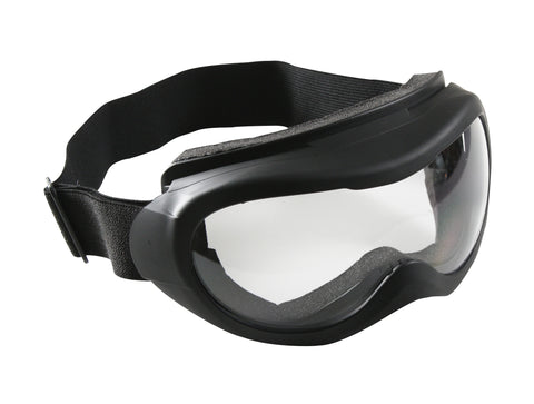 Black Windstorm Tactical Goggle - Anti-Fog Anti-Scratch Lenses - CE Approved