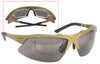 Tactical Eyewear Kit Ballistic Safety Eye Shield w/ Prescription Lens Inserts