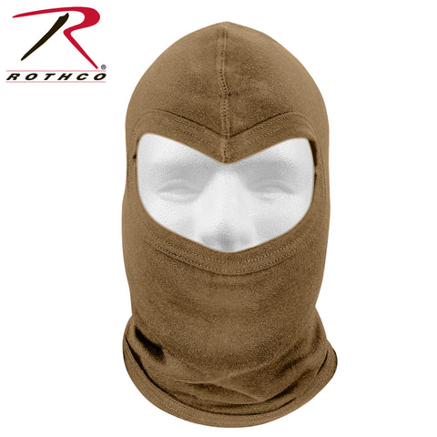 Rothco Fire Retardant Hood - Coyote Brown 700°F Flame & Heat Resistant Balaclava