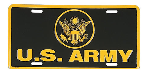 "US Army License Plate - ""U.S. Army"""