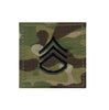 Multicam Military Army Rank Insignia with Velcro Back Made in USA