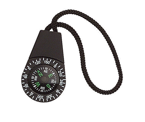 Zipper Compass - Rothco Lightweight Trustworthy Hiking Camping Compasses