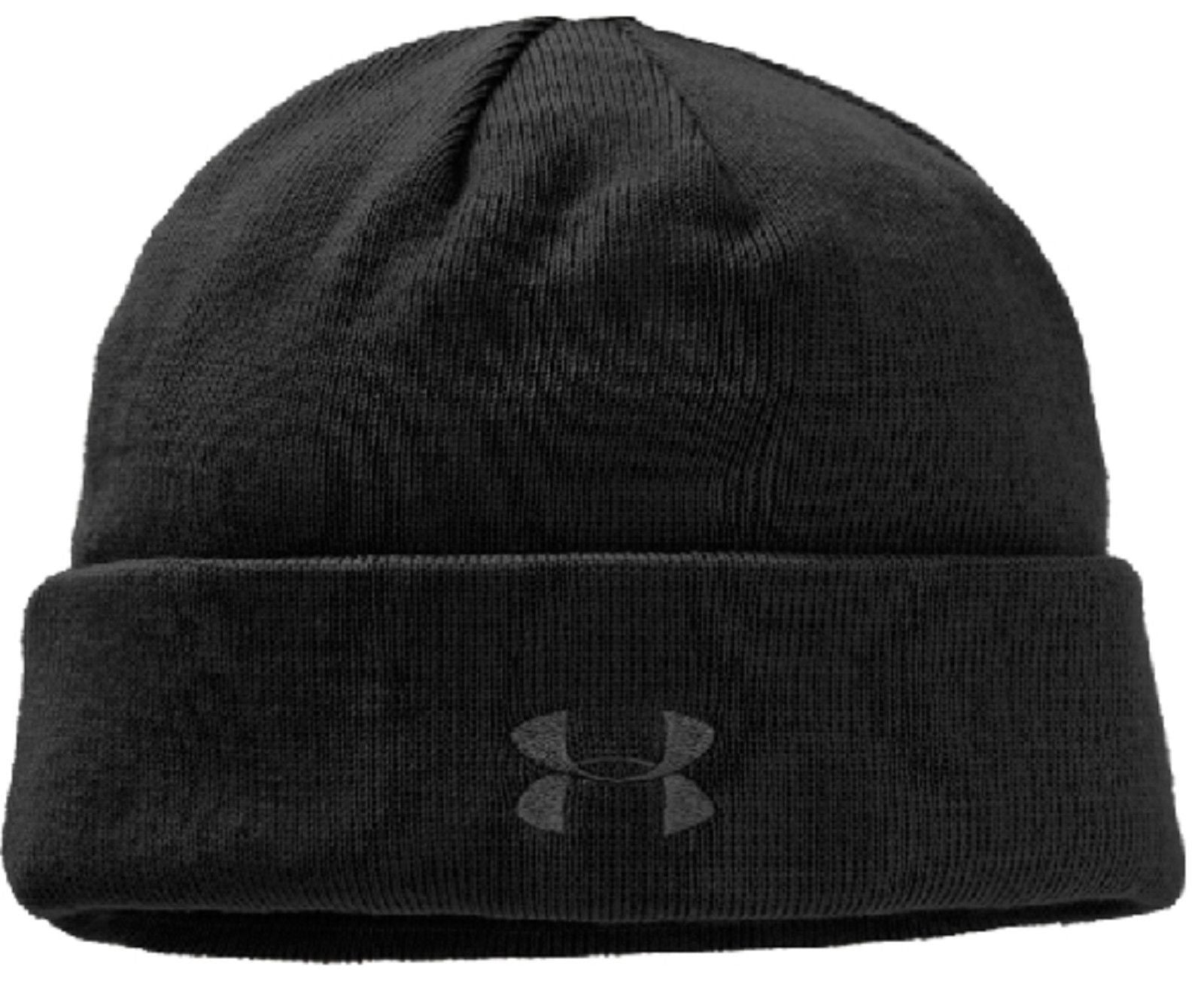 a1061fb1a Under Armour Stealth Beanie Winter Hat - UA HeatGear Lined Cold ...