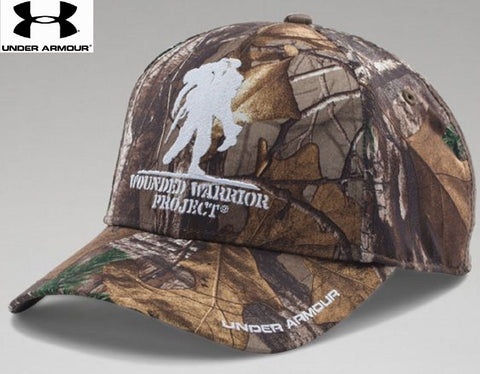 Under Armour Wounded Warrior Project Camo Snap Cap - Mens UA Embroider –  Grunt Force 153d40b8a