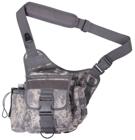 ACU Digital Camouflage Advanced MOLLE Tactical Shoulder Bag