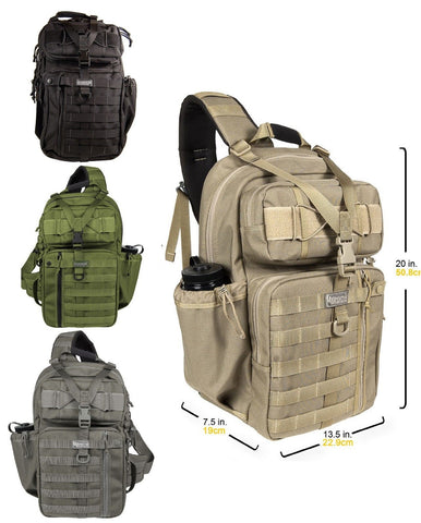 "Maxpedition Large Kodiak Gearslinger Bag - 20"" Expandable Transport Assault Pack"