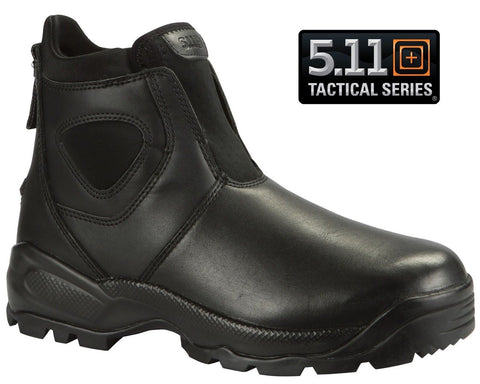 5.11 Tactical Company Boots 2.0- Mens Solid Black OrthoLite Field Duty Work Boot