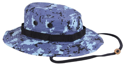 46e2003161faf Blue or Red Digital Camouflage Boonie Hat - Rothco Digi Camo Bucket Ha –  Grunt Force