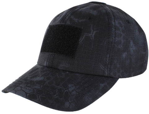 Men's Black Kryptek Typhon Baseball-Style Tactical Cap Military Operator Hat