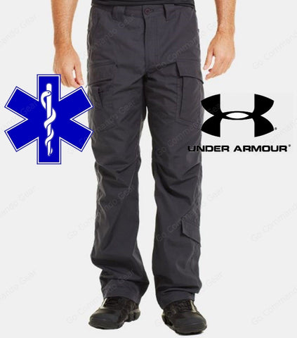 Under Armour Tactical EMT Medic Pants - UA Mens Full & Loose Fit Paramedic Pant