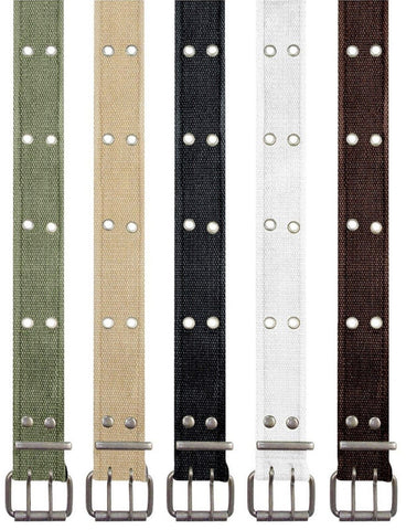 Tactical Washed Vintage Double Prong Belt