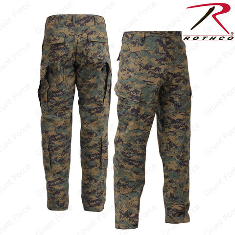 Rothco Woodland Digital Army Combat Uniform Pants - Men's Military Field Pant