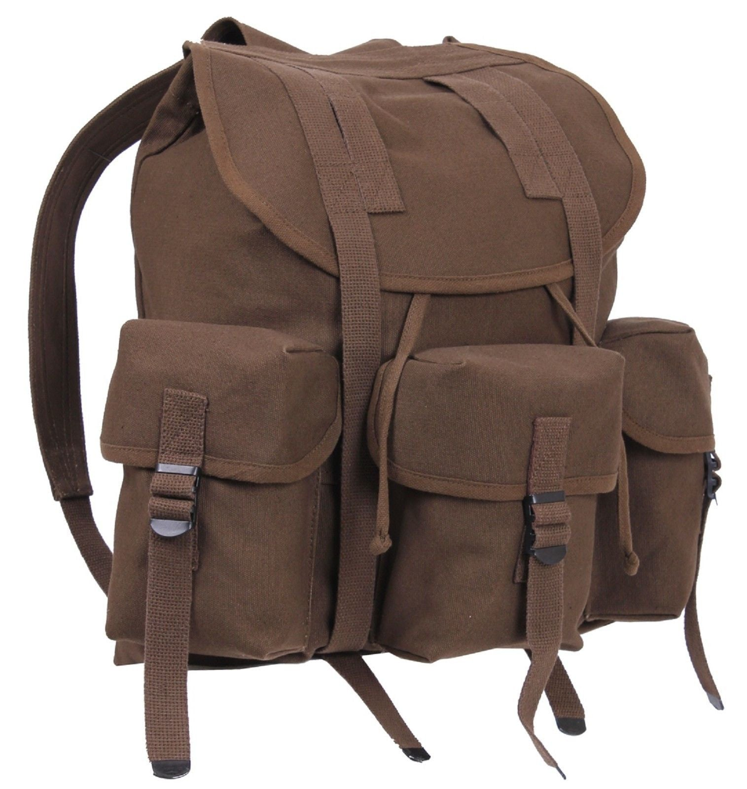 ... Military Style Earth Brown Mini ALICE Pack Backpack - 16