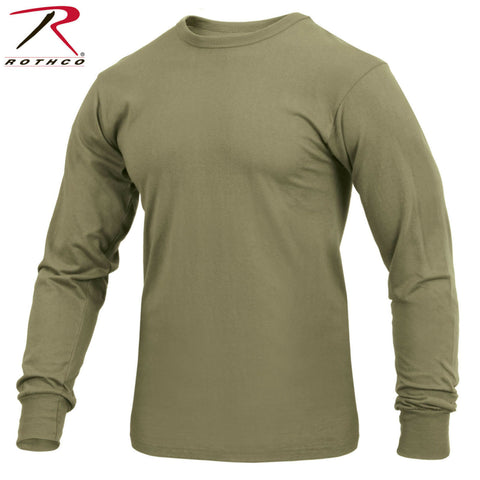 Rothco AR 670-1 Coyote Brown Long Sleeve T-Shirt Tee