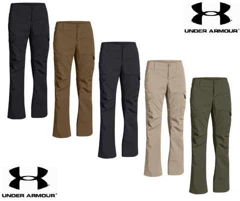 Under Armour Womens Tactical Patrol Pant - UA Loose-Fit Field Duty Cargo Pants