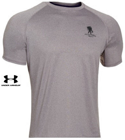 Under Armour Gray WWP Tech T-Shirt - UA Wounded Warrior Project Short Sleeve Tee