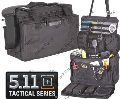 5.11 Tactical Black Wingman Police Officer Patrol Organizer Bag 56045