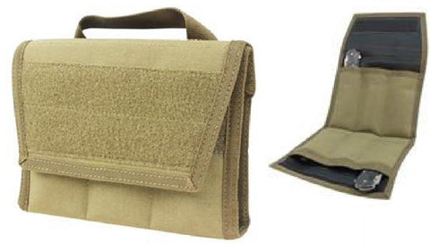 Condor Khaki Tan Knife Arsenal Carry Case Pouch Pack - Holds 6 Knives