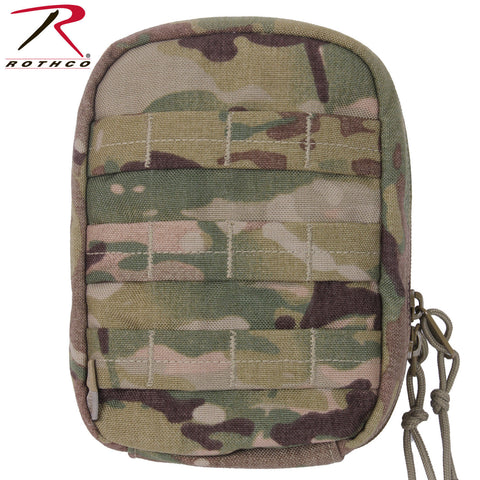 Rothco MultiCam MOLLE Tactical Trauma & First Aid Kit - Pouch Only (No Supplies)