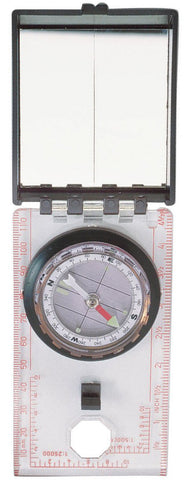 Rothco Liquid Filled Orienteering Compass - Sighting Mirror and Luminous Pointer