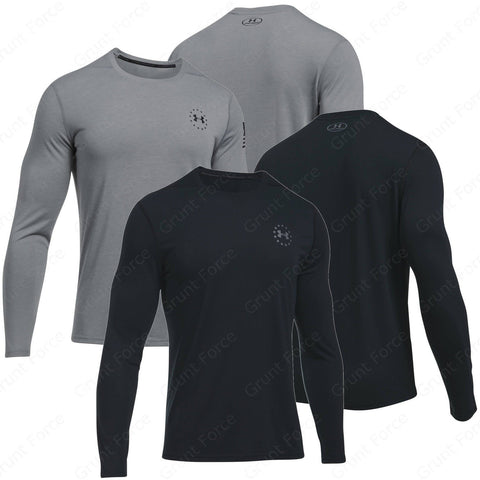 Under Armour Freedom UA Threadborne Siro - Men's Tactical Long Sleeve Shirt