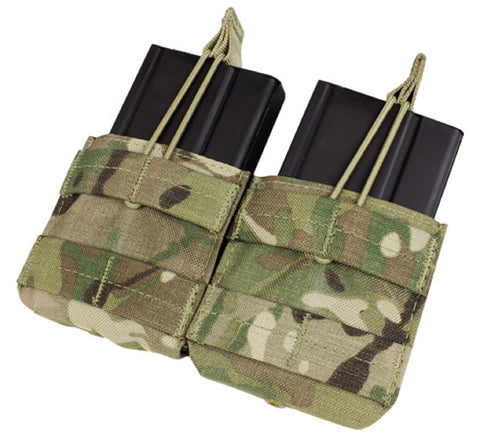 Condor MA24 MultiCam Double 7.62 NATO .308 MOLLE Open Top Magazine Holster Pouch