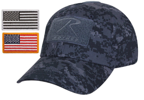 Mens Digital Camouflage Tactical Cap   USA Flag Patch - Rothco Camo Ba –  Grunt Force 26249dd01ad