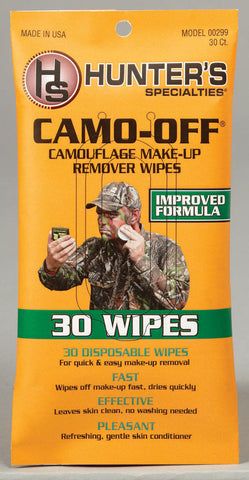 Camouflage Face Paint Remover - 30 Count Make Up Removing Wipes