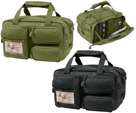 Tactical MOLLE Tool Bag - Rothco Utility ID Holder Bags w/ Removable Compartment