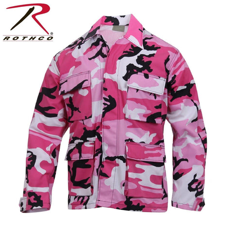 fbccf70f1ae Rothco Ultra Violet or Pink Camo BDU Top - Mens Long Sleeve BDU Camo S –  Grunt Force