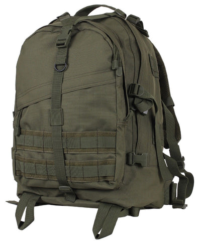 "Rothco Olive Drab Large Transport Pack - 19"" Hiking & Hunting Backpack Bag 72870"