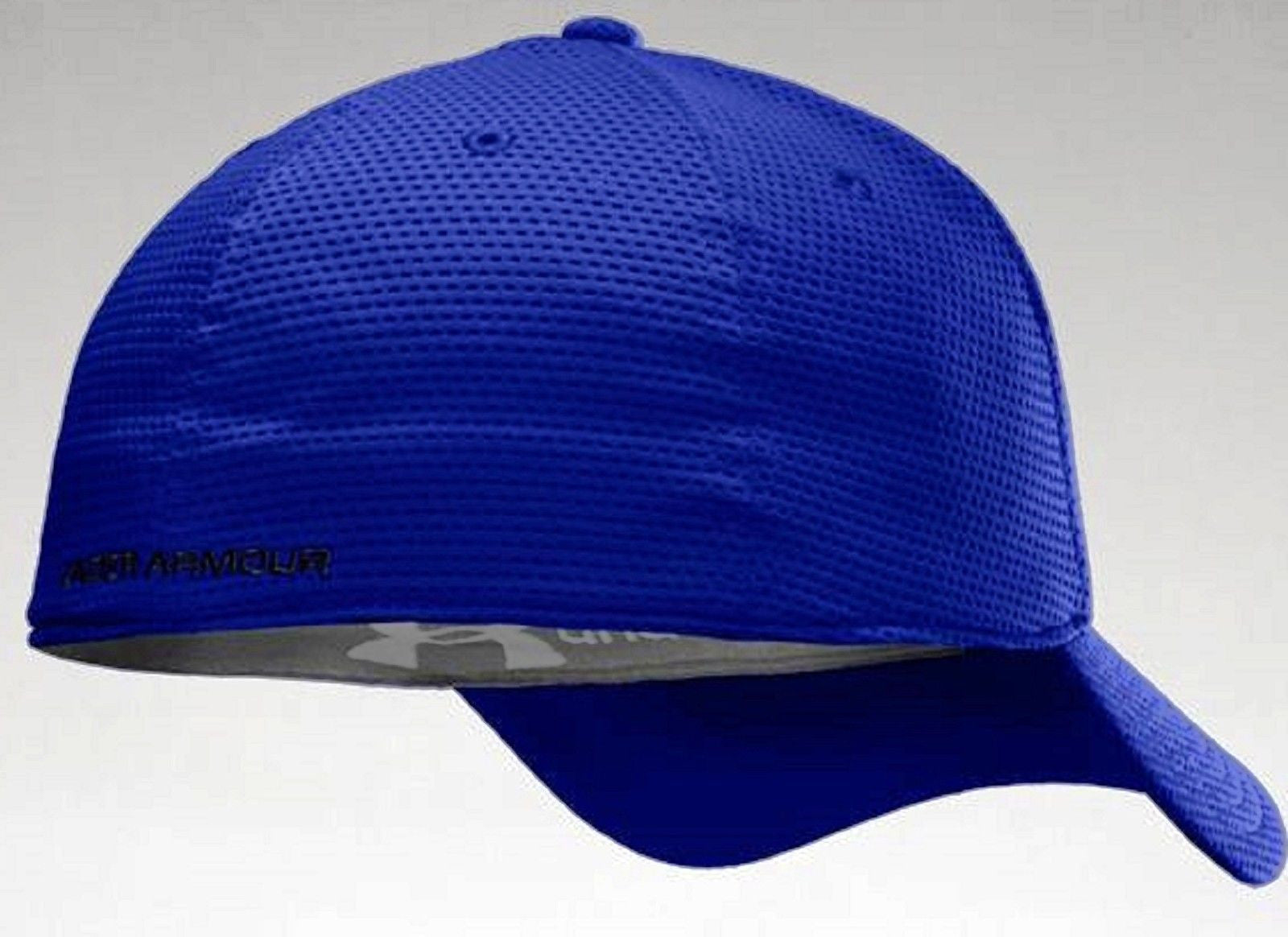 b49e4969a25 ... Under Armour Blitzing Stretch Fit Cap - Men s UA HeatGear PolyMesh  Baseball Hat ...