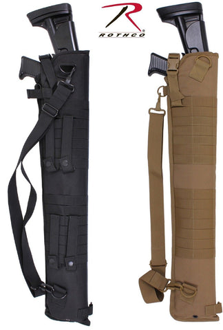 "Black or Coyote Brown Tactical Shotgun Scabbard - 30"" Polyester Gun Case Pack"