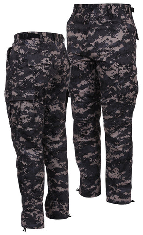Subdued Urban Digital BDU Pants - Men's Military Tactical Outerwear